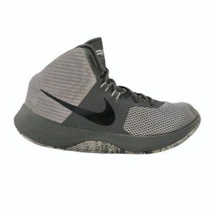Nike (9.5) Gray Mesh Air Precision Men's Sneakers